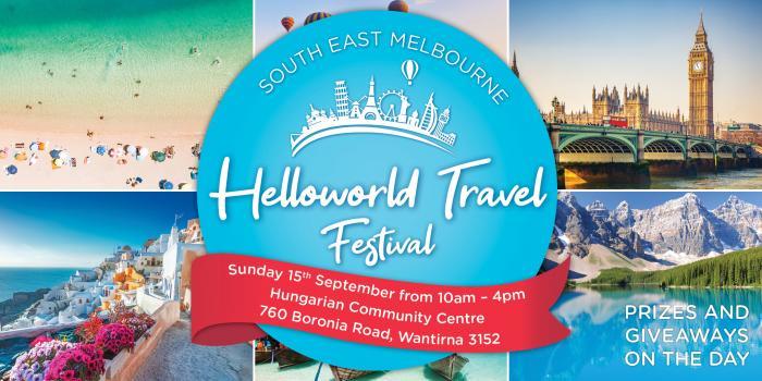 Helloworld Travel Festival | South East Melbourne