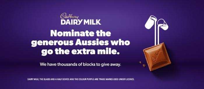 Cadbury 'Generous Aussies' Campaign