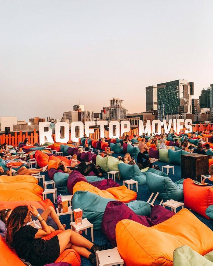 Rooftop Movies: Roe Street Carpark