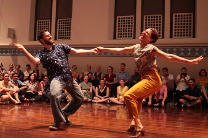 Hullabaloo: swing dancing and music festival