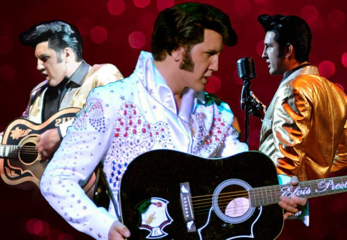 Elvis if I Can Dream - Mark Anthony